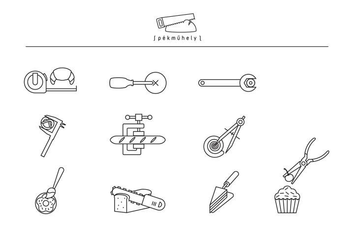 Pékműhely面包店品牌和包装设计