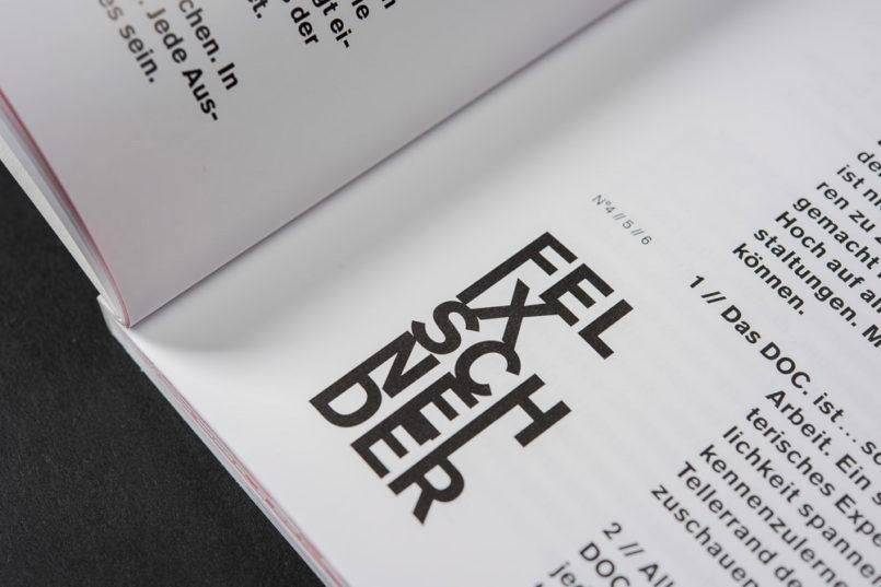 DOC. n°10杂志版面设计