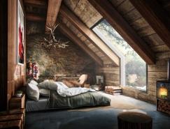 25个漂亮的阁楼卧室装修设计