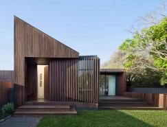澳大利亚海岸坡屋顶住宅设计