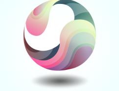 新立體主義:繪製一個抽象立體感太極球