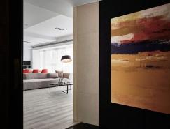 台中巴黎风格现代公寓设计