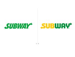 跨國快餐連鎖店 賽百味(Subway)更換新LOGO