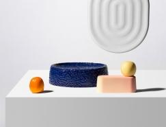 凹凸触感的陶瓷容器