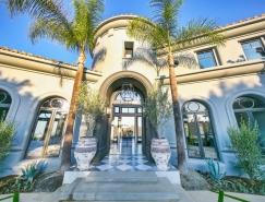 洛杉矶贝弗利山现代法式豪华别墅