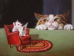 Lucia Heffernan画笔下有趣的动物世界