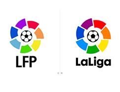 西班牙足球甲级联赛(La Liga)新赛季启用新LOGO