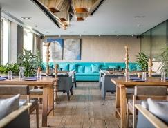 基輔BARVY現代餐廳空間設計