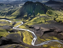 Martinet Sarah壮美的冰岛航拍作品