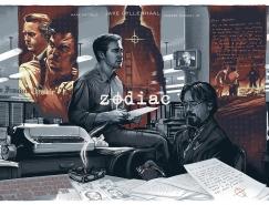 Barrett Chapman插画风格电影海报