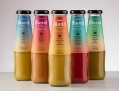Blend果汁包裝設計