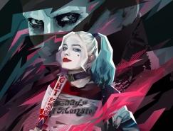 Kate Jones电影海报和人物插画设计