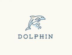 标志设计元素运用实例:海豚(二)