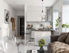 3个北欧简约风格一居室装修澳门金沙网址