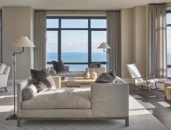 芝加哥宁静优雅的湖景公寓装修设计