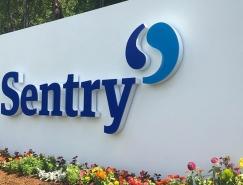 美国哨兵保险(Sentry)公司启用新LOGO