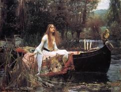 英国画家威廉·霍尔曼·亨特(William Holman Hunt)作品