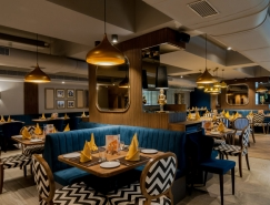 印度時尚複古的1944餐廳設計