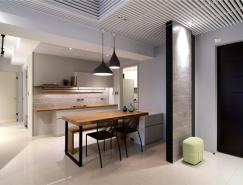 台中现代简约风格公寓装修设计