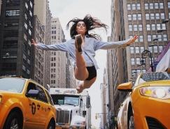 喧嚣中的优雅● 纽约街头的芭蕾舞者