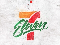 David Milan將知名品牌Logo變身手寫體