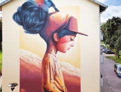 Linus Lundin令人惊叹的街头艺术作品