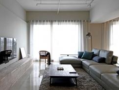 台中現代極簡風住宅裝修設計