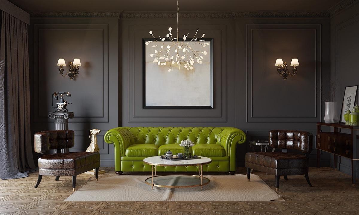 20个国外创新时尚的客厅设计