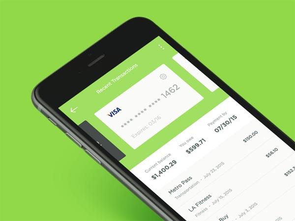 支付相关的UI界面设计