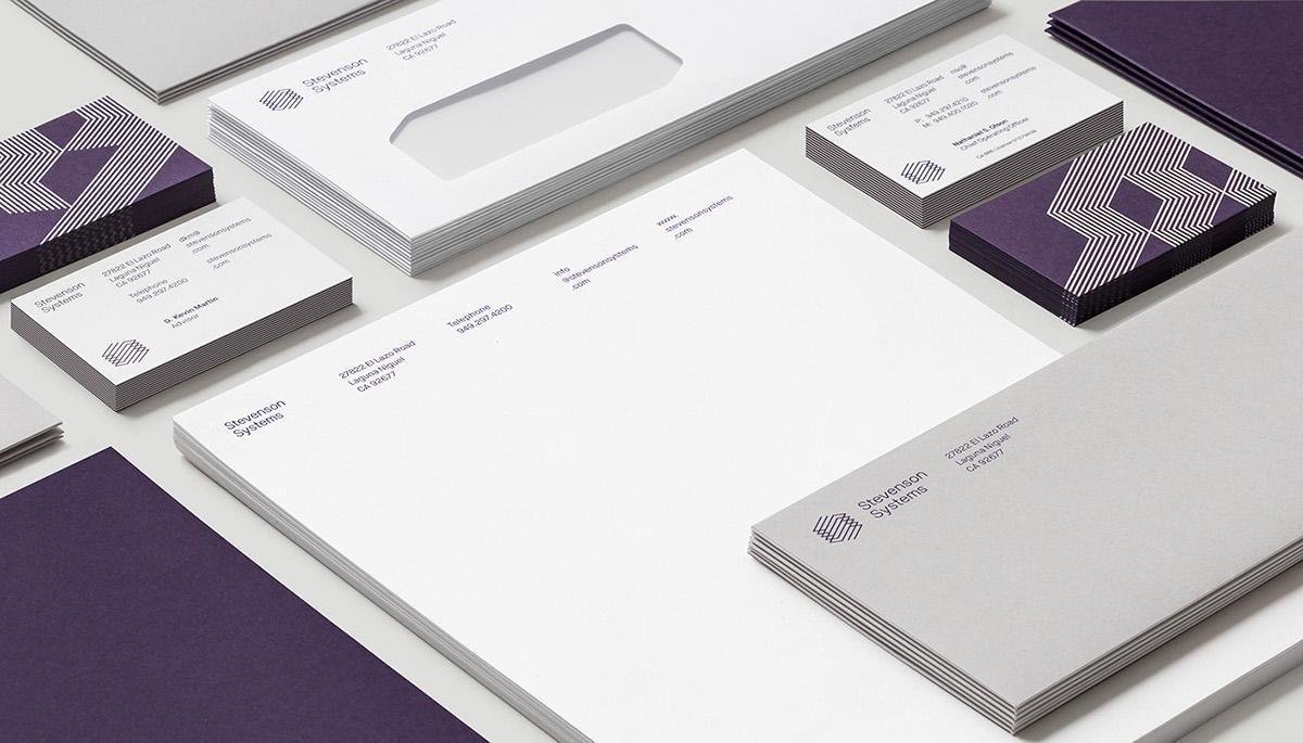 Stevenson Systems品牌视觉形象设计