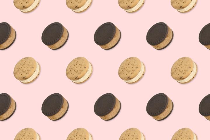 FRO FRO冰淇淋饼干品牌和包装设计