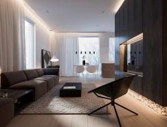 简约风格现代公寓装修效果图