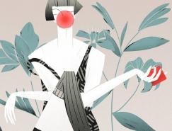 Sara Ciprandi女性人物插画欣赏