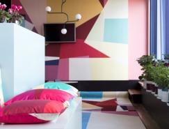 精美的色塊和色彩表現:斯德哥爾摩Scandic Anglais酒店客房設計
