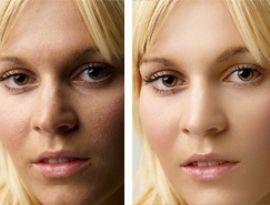 Photoshop修複人物臉部偏暗