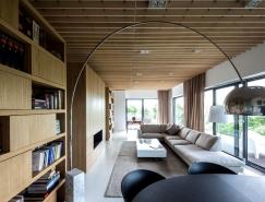 波兰清新简约的现代住宅空间设计