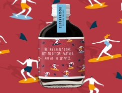 Elderbrook飲料品牌和包裝設計