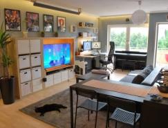 4個漂亮的一居室小公寓設計