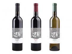 RAJ葡萄酒包装设计