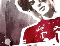 PS製作搖滾風格人物海報