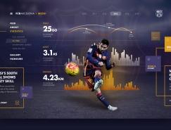 FC Barcelona巴塞罗那足球俱乐部概念网页,体育投注