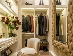 打造舒适更衣空间: 步入式衣帽间9大设计要点