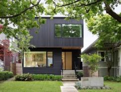 溫哥華通透簡約現代別墅設計