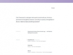 16个国外超极简风格网页设计