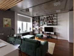 乌克兰80平米工业风格现代公寓亚洲城最新网址