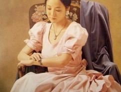 日本新古典主义画家森本草介