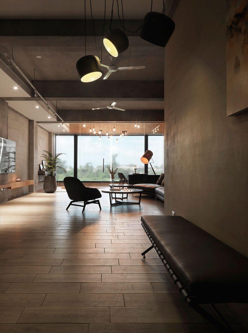 台湾极简时尚现代公寓设计