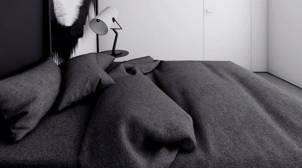 4个极简主义黑白公寓空间设计
