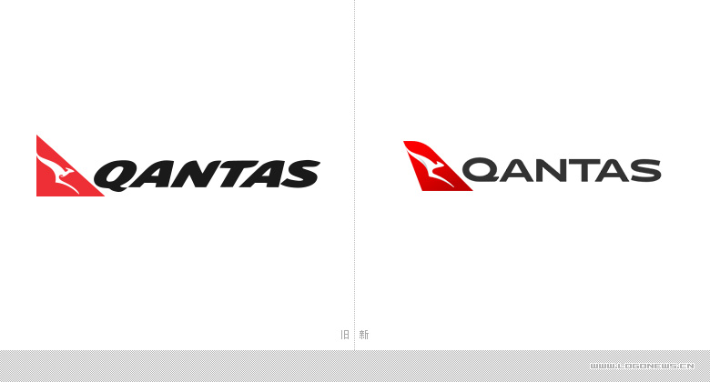 澳洲航空推出全新品牌LOGO