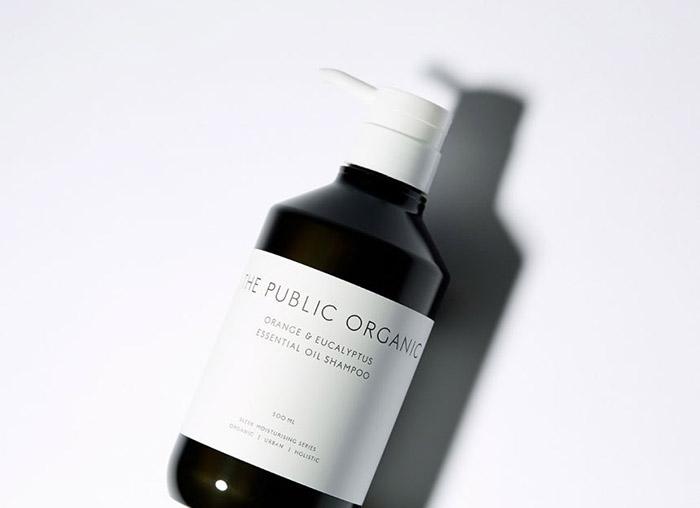 护发产品THE PUBLIC ORGANIC品牌视觉形象设计